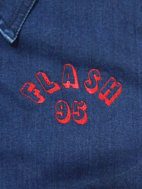 [FLASH POINT] FLASH 95 EMB DENIM DRIZZLER JACKET type-1(IN)1