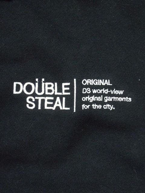 [DOUBLE STEAL] LINE LOGO HOOD1