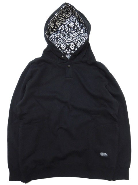 [DOUBLE STEAL BLACK] NATIVE IN HOOD(BK)