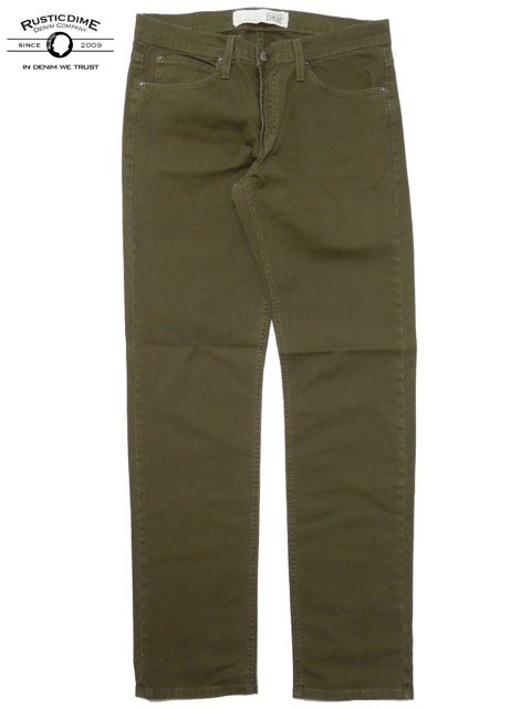 [RUSTIC DIME] SLIM FIT PANTS(OL)