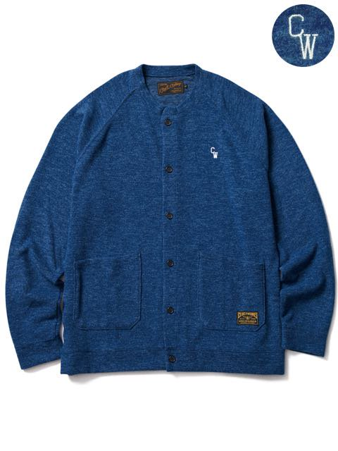 [CLUCT] KNIT SEW CARDIGAN(NV)