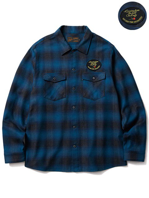 [CLUCT] L/S FLANNEL CHECK SHIRT