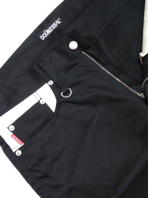 [DOUBLE STEAL] LINE LOGO LINE NARROW CHINOS1