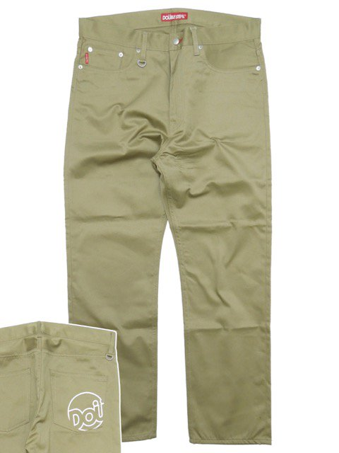 [DOUBLE STEAL] LINE DOU NARROW CHINOS