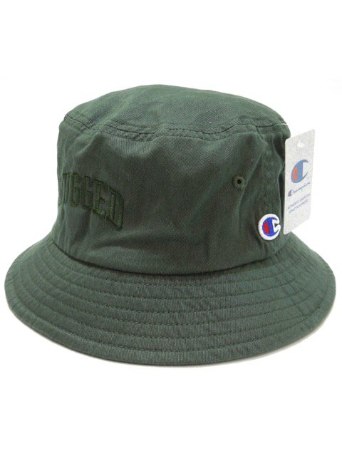 [RUGGED] RUGGED on Champion buckethat(OL)