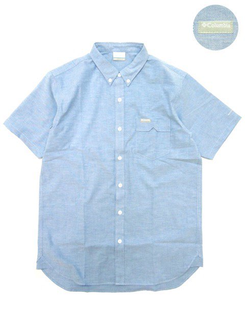 [COLUMBIA] GREENSTONE RIDGE SHORT SLLEVE SHIRT