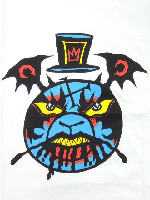 [MISHKA] DUTTY BEAR MOP TEE1