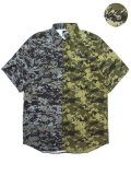 [LEFLAH] DIGITAL CAMO SHIRTS