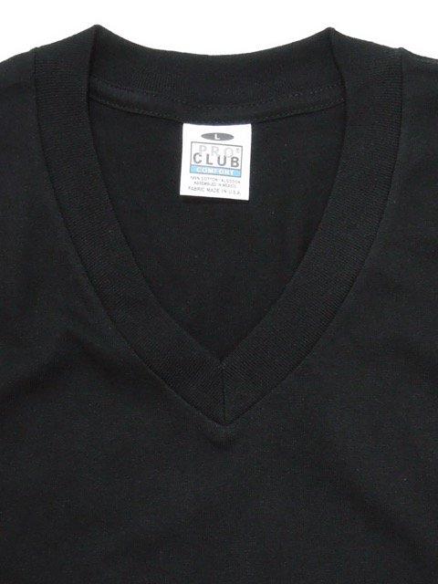 [PRO CLUB] COMFORT V-neck Tee1