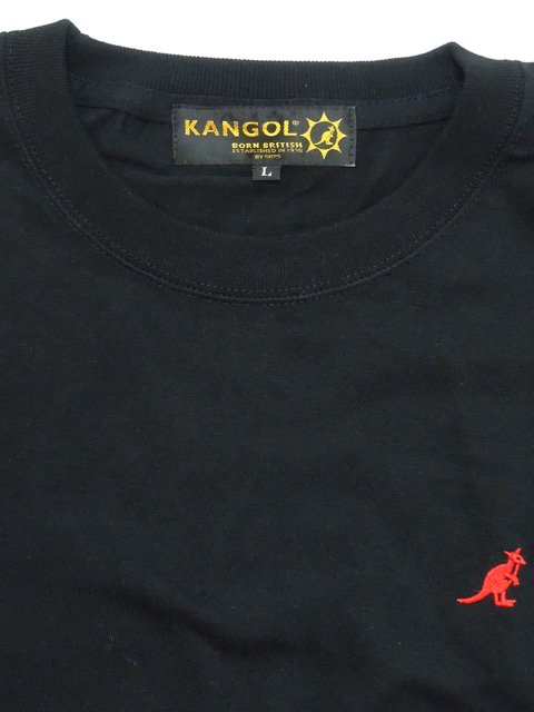 [KANGOL] KG ONE POINT TEE3