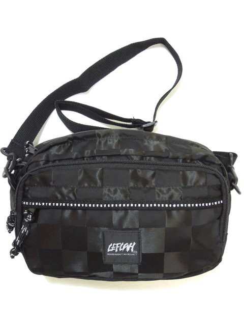 [LEFLAH] 2WAY BUM BAG(BK)1