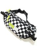[MISHKA] CHECKERED FLAG BODY BAG