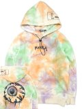 [MISHKA] MISHKA COLORFUL WORLD PULLOVER HOODIE