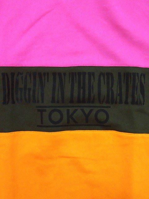 [MANIC DEE] D.I.T.C. TOKYO 45 SWITCH PANEL CREW SWEAT1