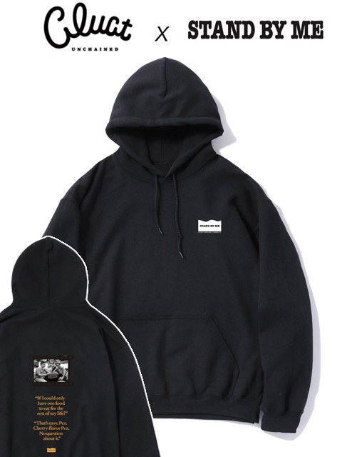[CLUCT]  CLUCT×STAND BY ME DROP BIG SILHOUETTE HOODPARKA