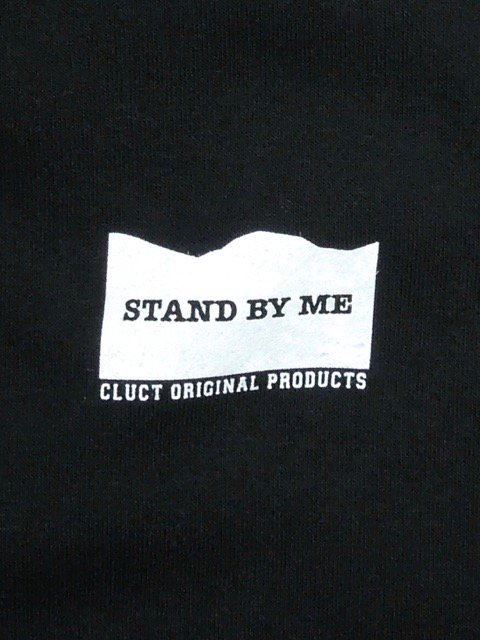 [CLUCT]  CLUCT×STAND BY ME DROP BIG SILHOUETTE HOODPARKA1