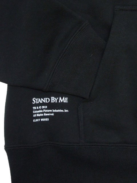 [CLUCT]  CLUCT×STAND BY ME DROP BIG SILHOUETTE HOODPARKA3