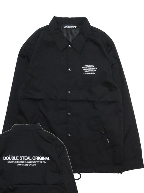 [DOUBLE STEAL] TYPOGRAPHY COACH JACKET