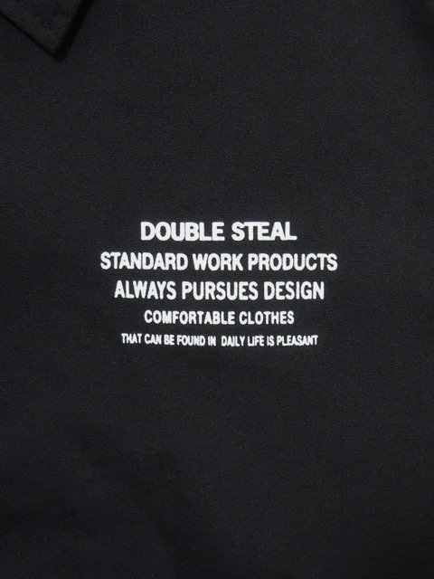 [DOUBLE STEAL] TYPOGRAPHY COACH JACKET1
