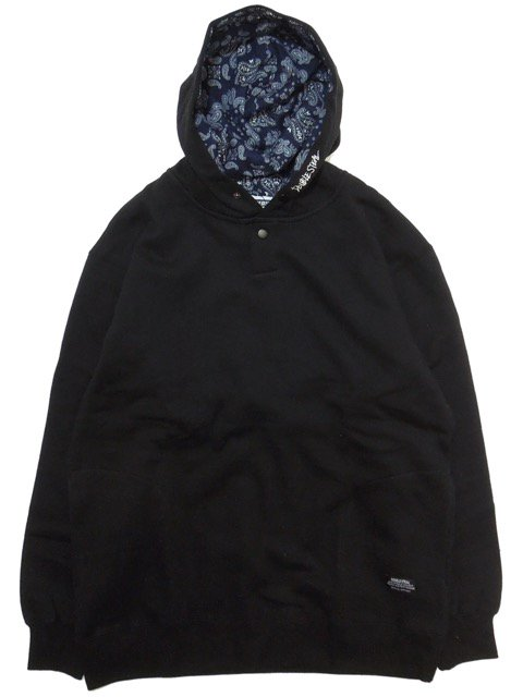 [DOUBLE STEAL] PRINTED IN PARKA(BK)