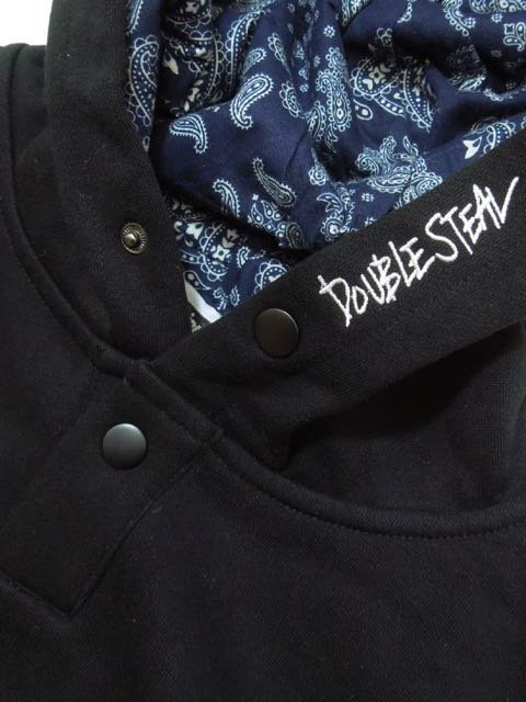[DOUBLE STEAL] PRINTED IN PARKA(BK)1