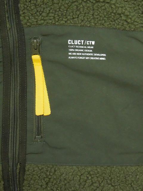 [CLUCT] CTW-FLEECE JKT(GR)1