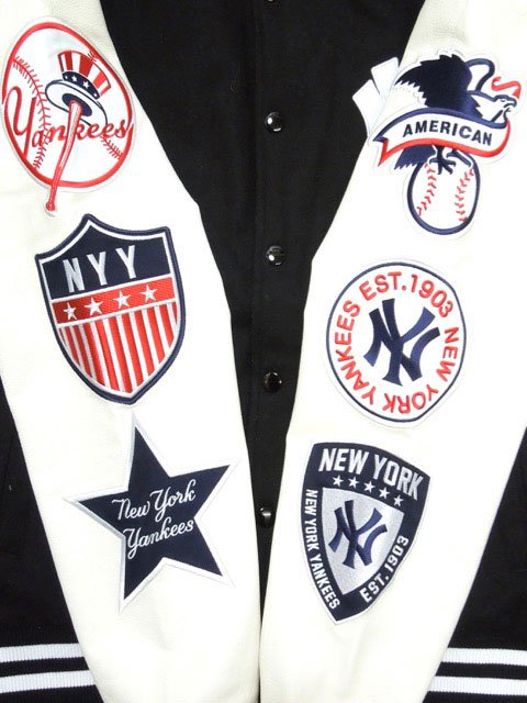 [MAJESTIC] NEW YORK YANKEES STADIUM JACKET2
