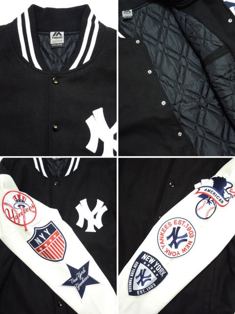 [MAJESTIC] NEW YORK YANKEES STADIUM JACKET3