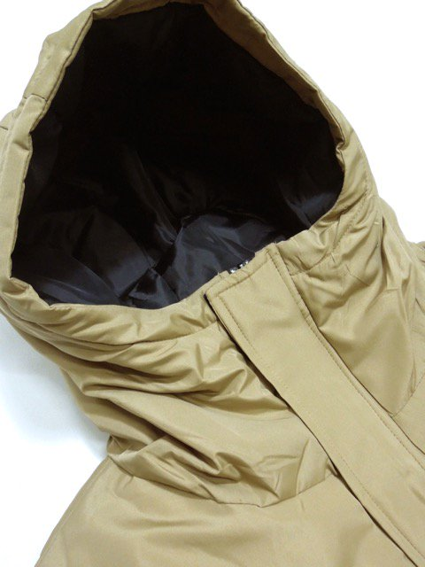 [DOUBLE STEAL] BASIC MOUNTAIN PARKA JACKET(BE)2