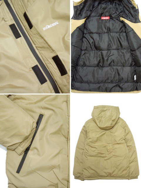 [DOUBLE STEAL] BASIC MOUNTAIN PARKA JACKET(BE)3