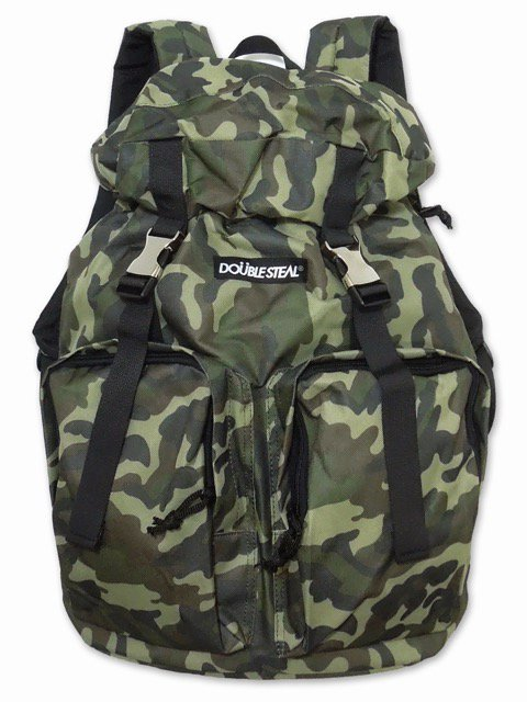 [DOUBLE STEAL] 2 POCKET BACKPACK(CA)