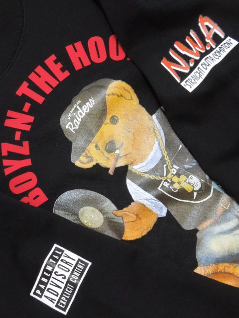 [MANIC DEE] BNH BEAR CREW SWEAT2