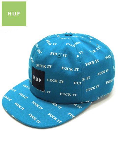 [HUF] FUCK IT 6 PANEL SNAP BACK CAP