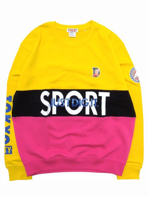 [MANIC DEE] JDI SPORT SWITCH PANEL CREW SWEAT