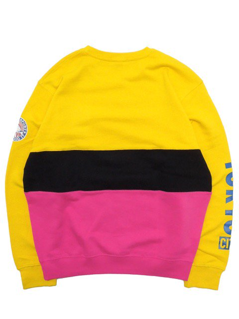 [MANIC DEE] JDI SPORT SWITCH PANEL CREW SWEAT3