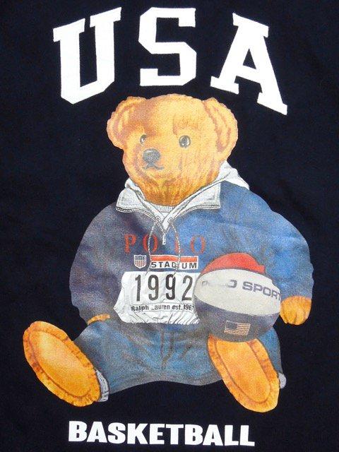 [MANIC DEE] STADIUM 1992 BB BEAR L/S TEE1