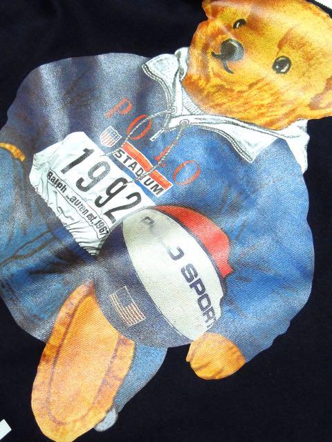 [MANIC DEE] STADIUM 1992 BB BEAR L/S TEE3