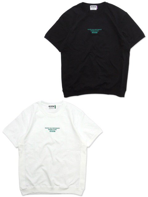 [DOUBLE STEAL] SIDE RIB EMBROIDERY TEE