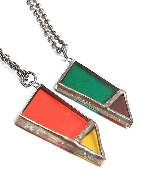 [quolt] STAINED-GLASS NECKLACE1