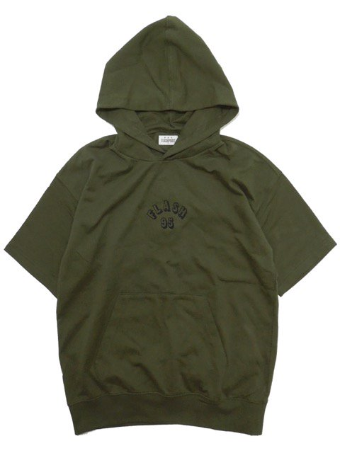 [FLASH POINT] FLASH 95 EMB BIG P/O HOODIE(OL)