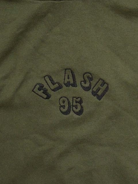 [FLASH POINT] FLASH 95 EMB BIG P/O HOODIE(OL)1