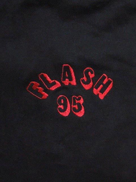 [FLASH POINT] FLASH 95 EMB BIG P/O HOODIE(BK)1