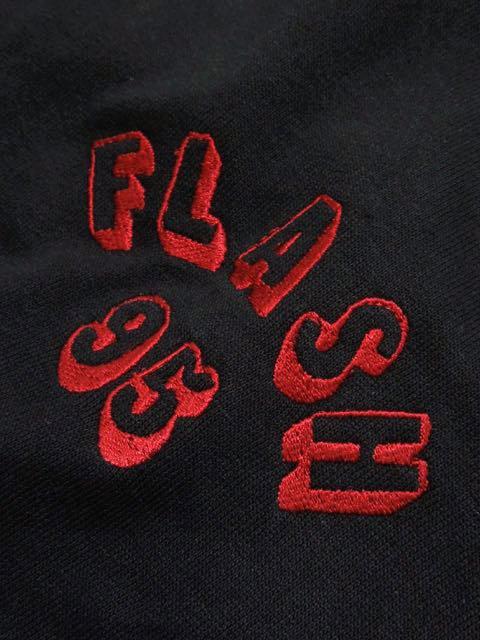 [FLASH POINT] FLASH 95 EMB BIG P/O HOODIE(BK)2