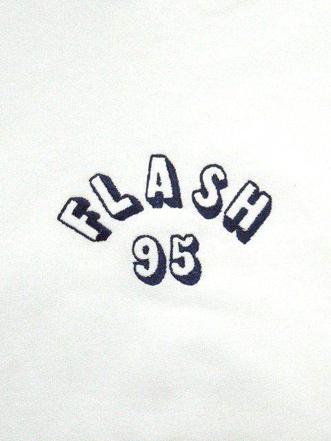 [FLASH POINT] FLASH 95 EMB BIG P/O HOODIE(WH)1