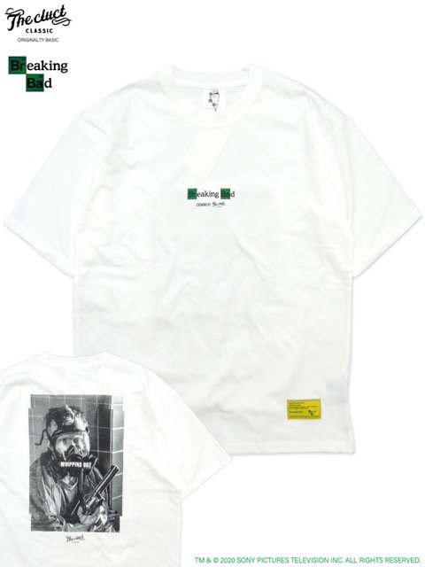 [CLUCT] CLUCT x Breaking Bad -JESSE S/S-(WH)