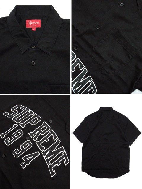 [Supreme] Arc Logo S/S Work Shirt3