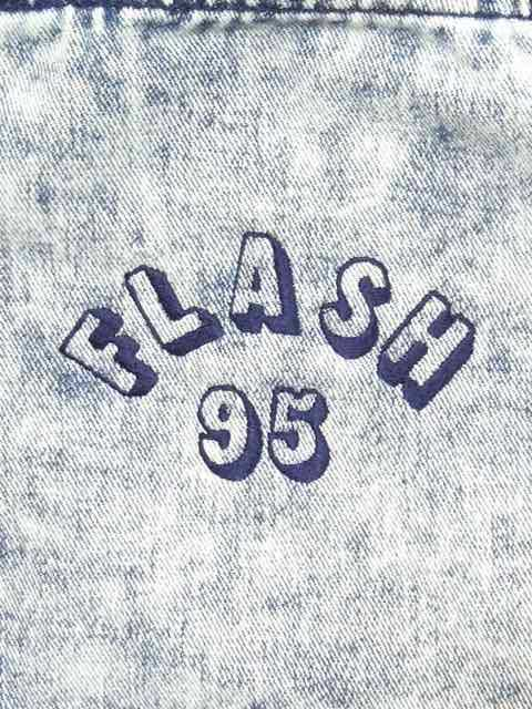 [FLASH POINT] FLASH 95 EMB DENIM TOTE BAG(CH)1
