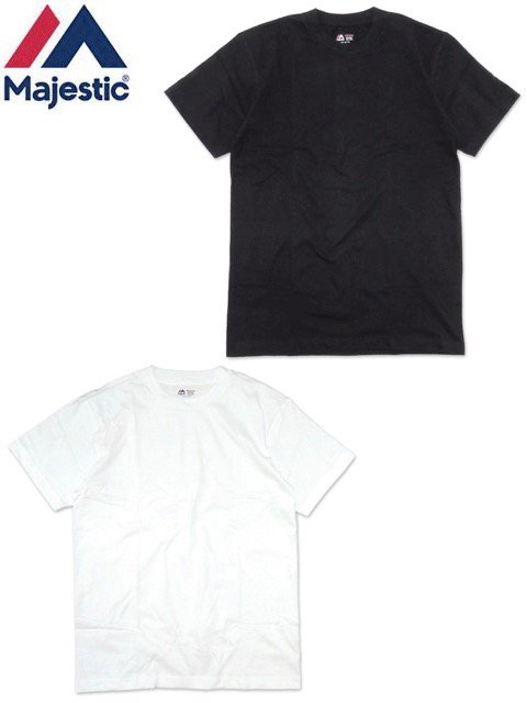 [MAJESTIC] 2 PACK Crew Neck TEE