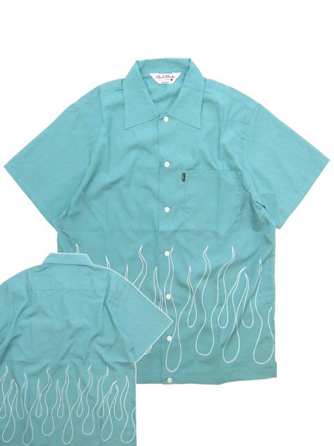 [CLUCT] FIRE FLAME SHIRT