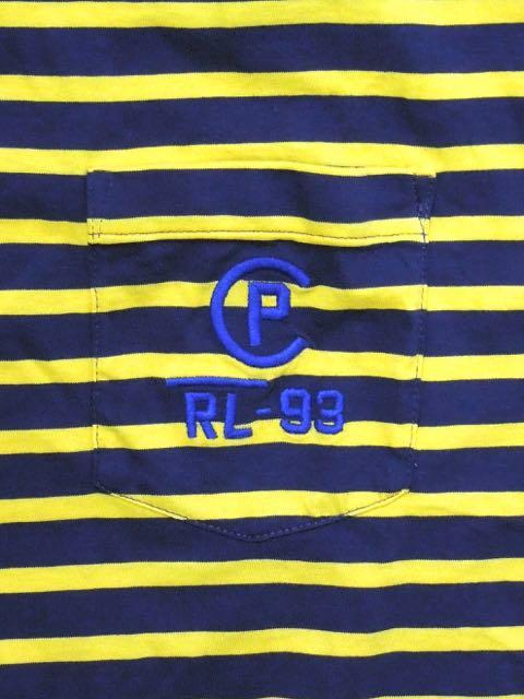 [POLO RALPH LAUREN] RL-93 BORDER TEE1